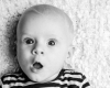 Fotoshoot baby fotostudio Deventer babyfotograaf Grietje Mesman portret zwart-wit