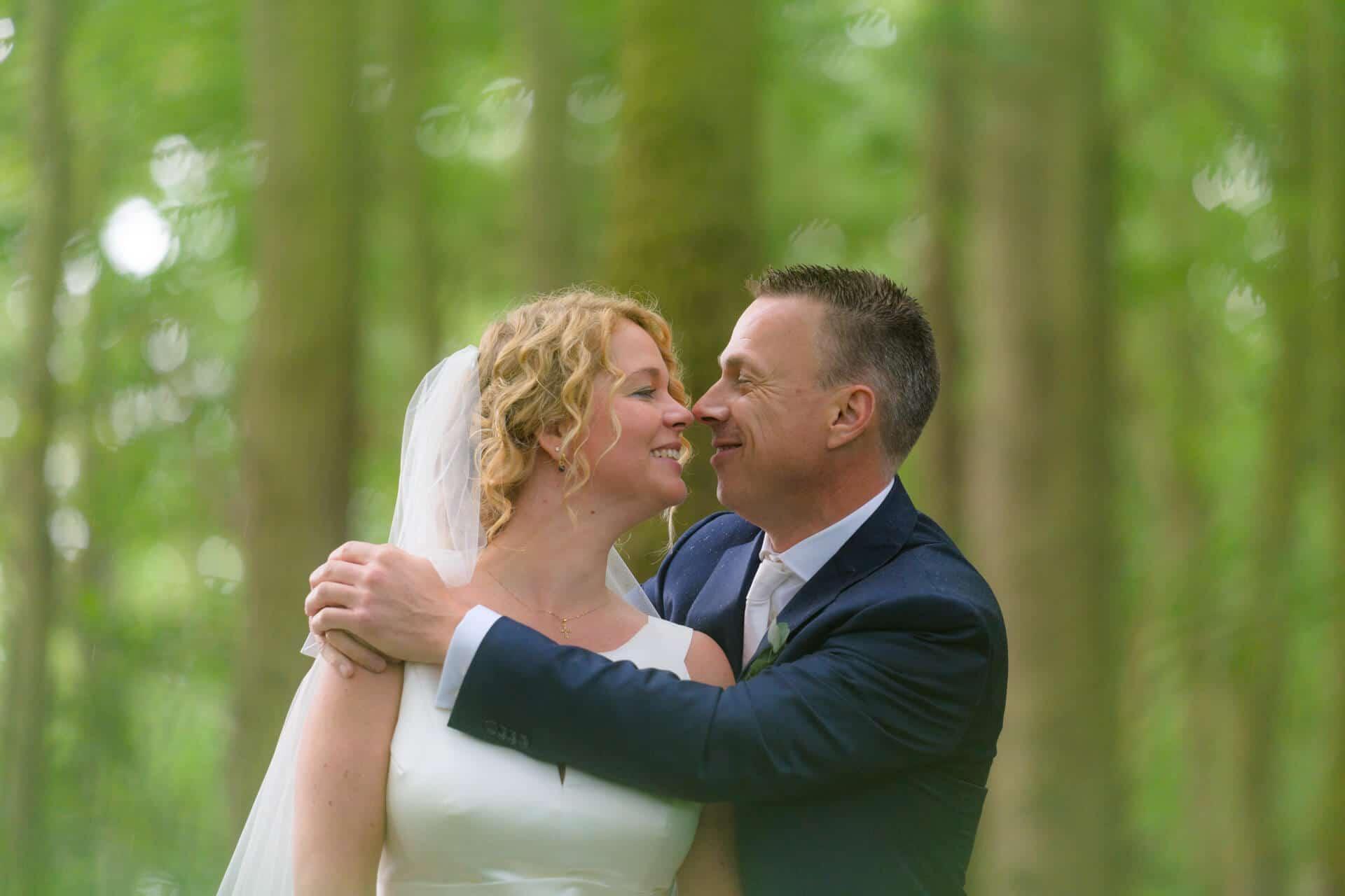 Bruiloft Noordwijk strand trouwen, trouwfoto's door trouwfotograaf Grietje Mesman