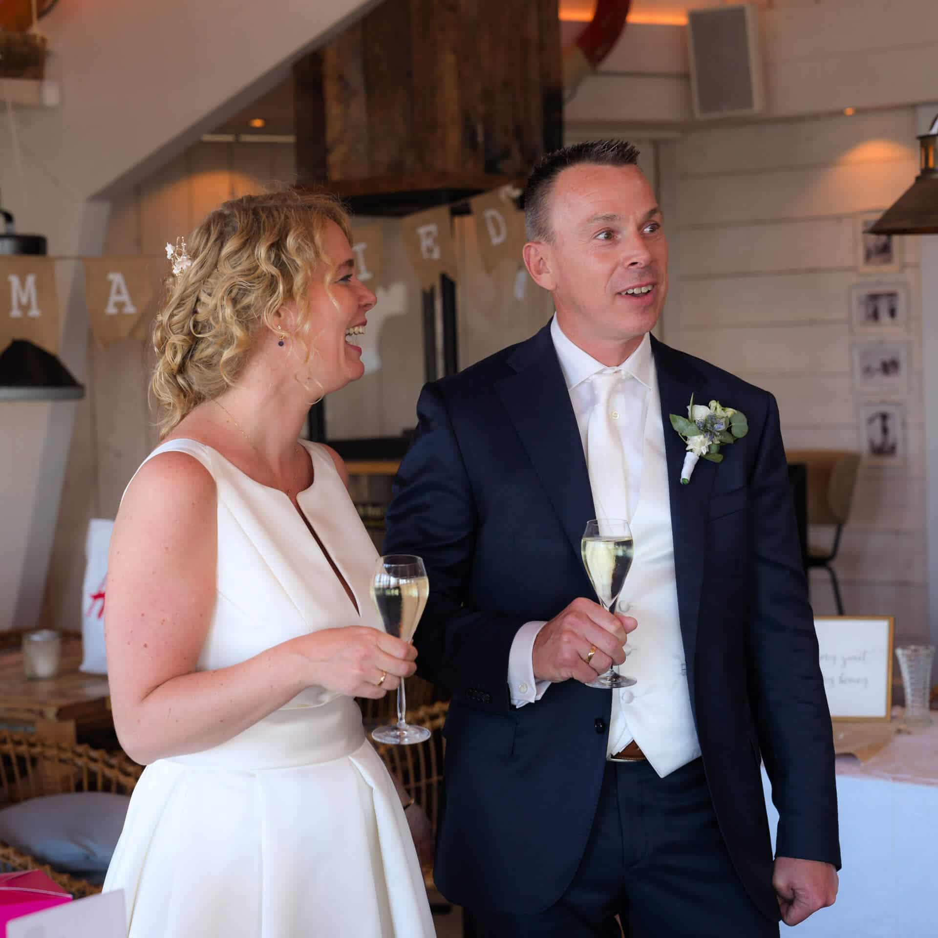 Bruiloft strand Noordwijk