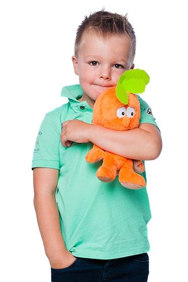 Fotoshoot kinderen Haarlem met Meneer Wortel, kinderfotografie door kinderfotograaf Grietje Mesman