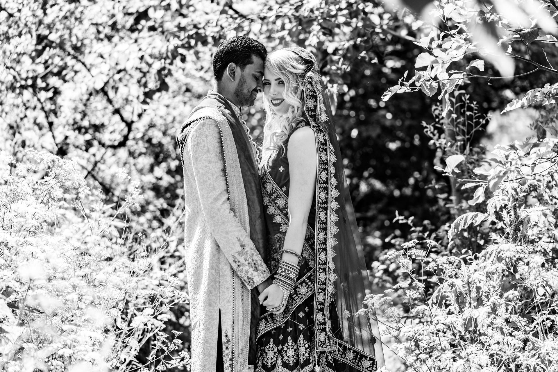 Hindoestaanse bruiloft, bruidsfotografie door trouwfotograaf Grietje Mesman