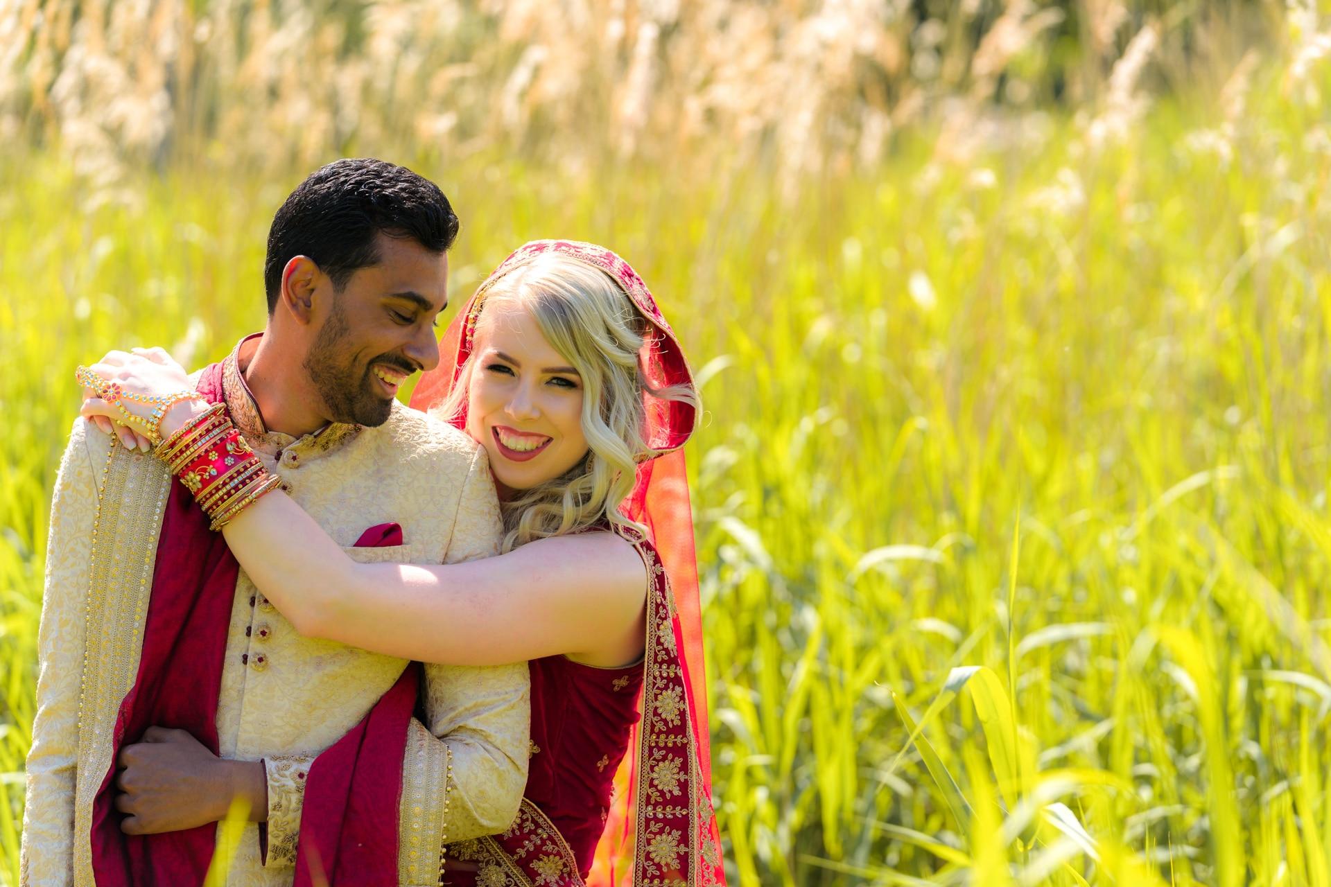 Hindoestaans bruidspaar Almere