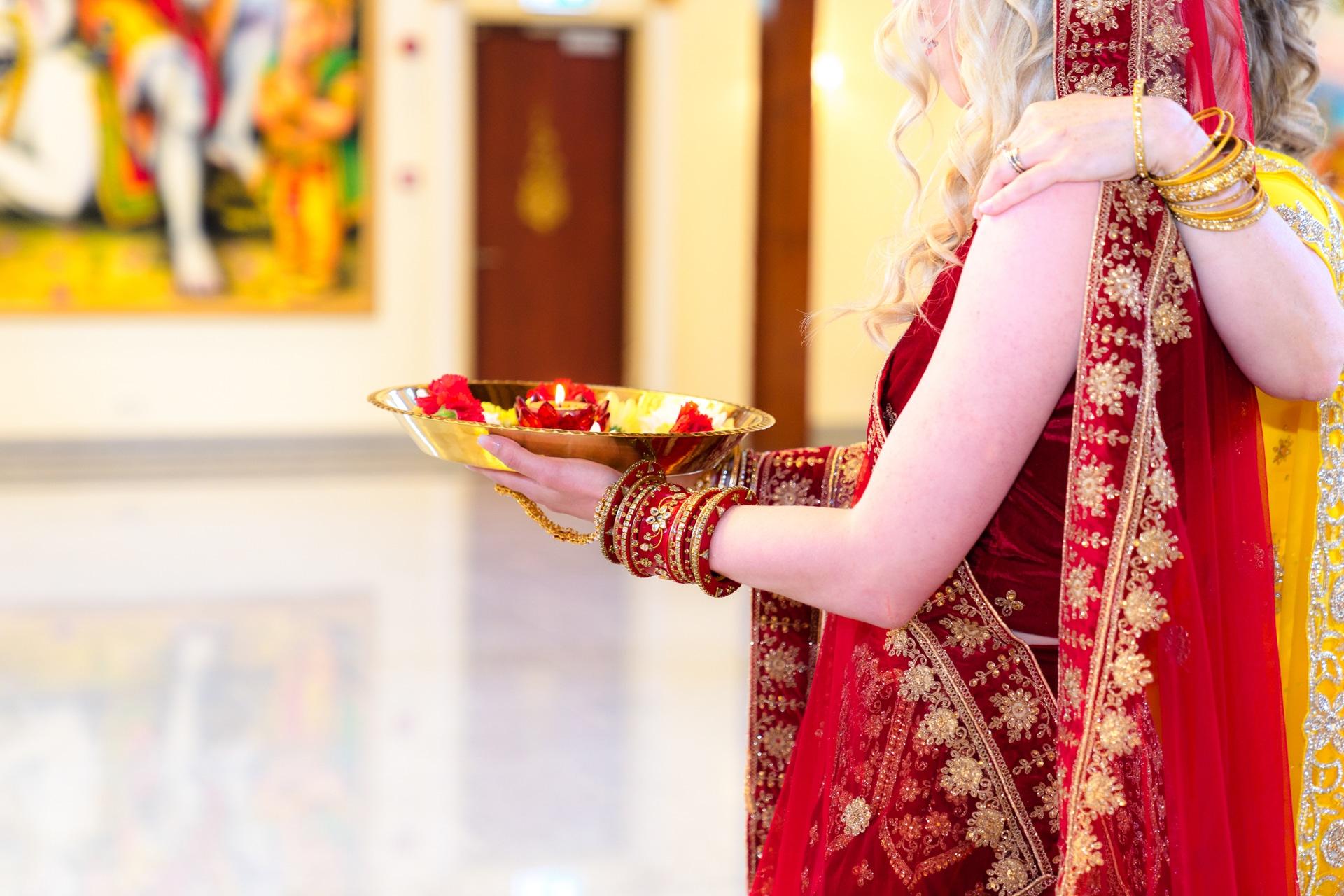 Hindoestaanse bruiloft ceremonie Almere