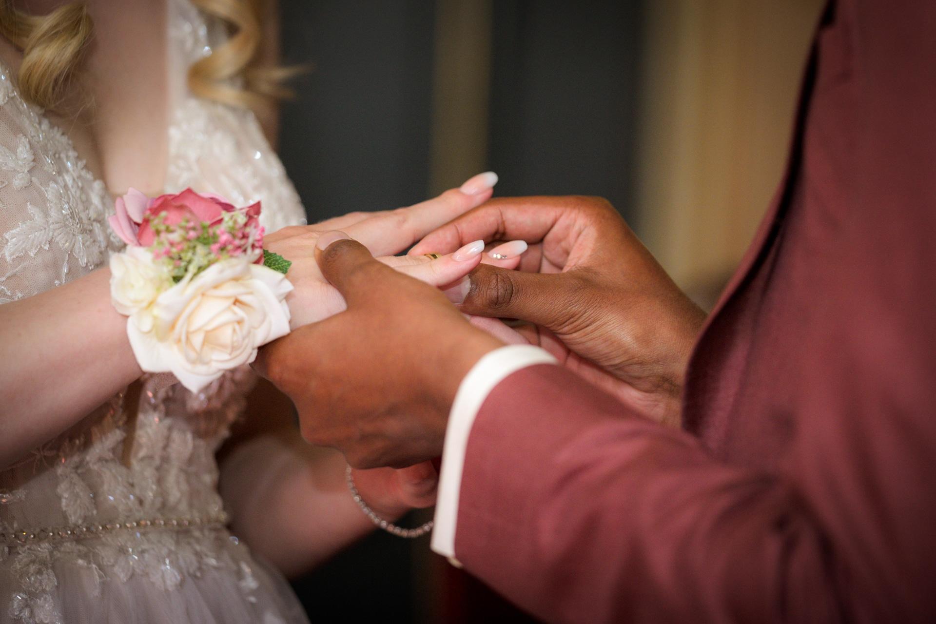 Trouwringen ceremonie bruiloft