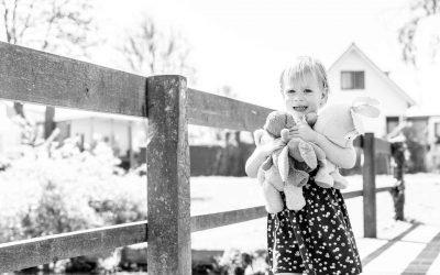 Kinderfoto's met mijn assistent