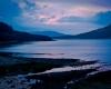 Meer-in-Schotland-bij-zonsondergang